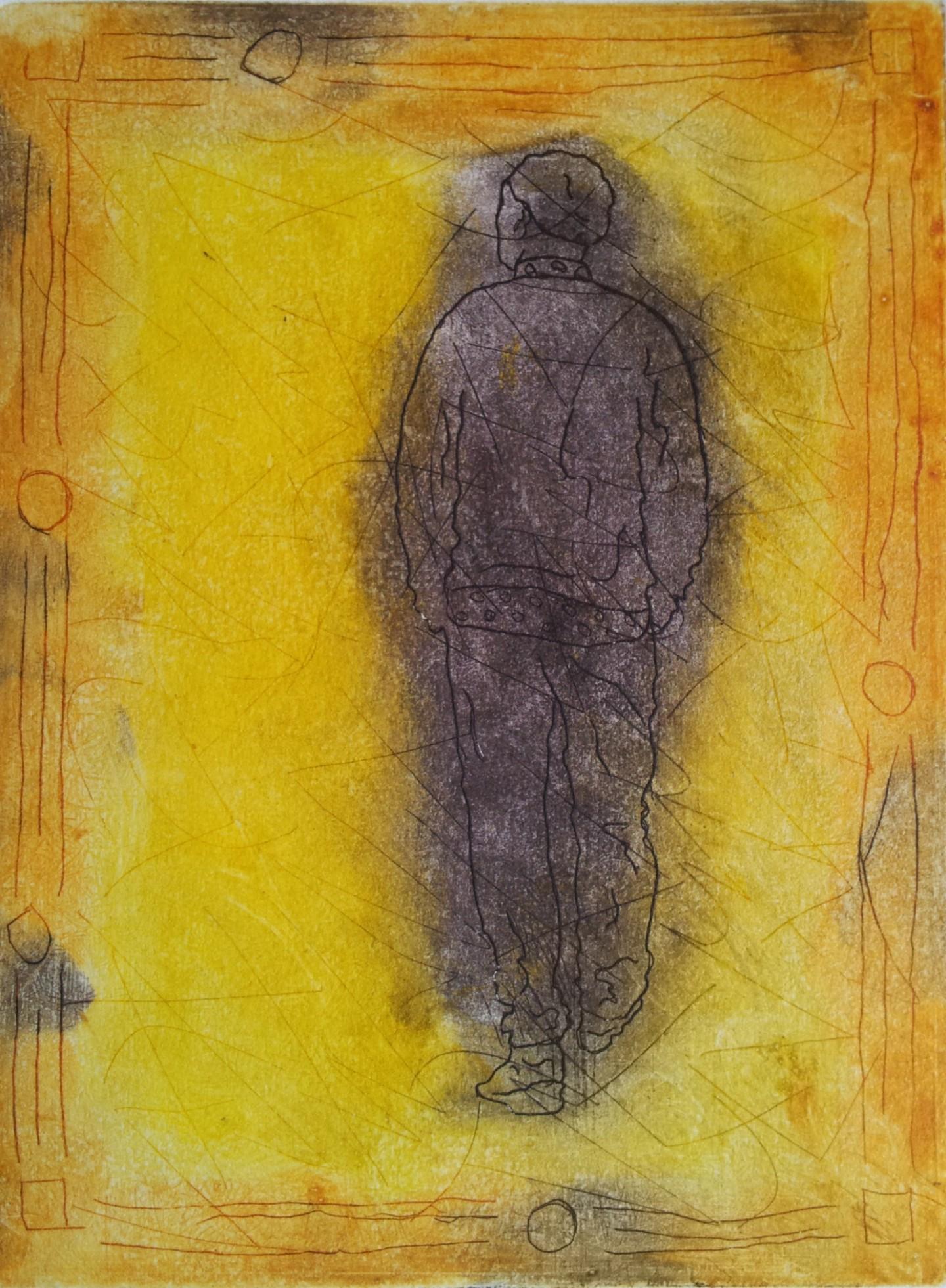 Rosemary Piolais - Piolais-le-solitaire-Gravure-20x14,7cm