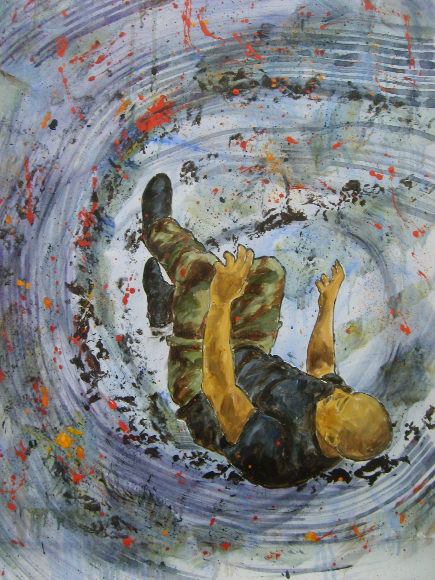 Rosemary Piolais - Thêta - 73x50 cm