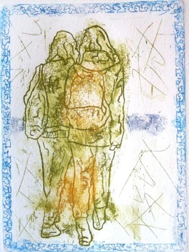 Piolais-les-deux-brunes-Gravure-19,7x14,5cm